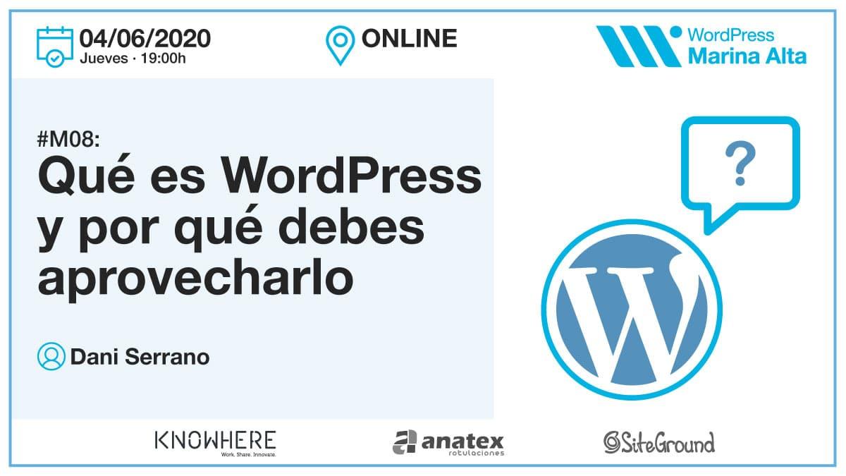 M08: Qué es WordPress y por qué debes aprovecharlo