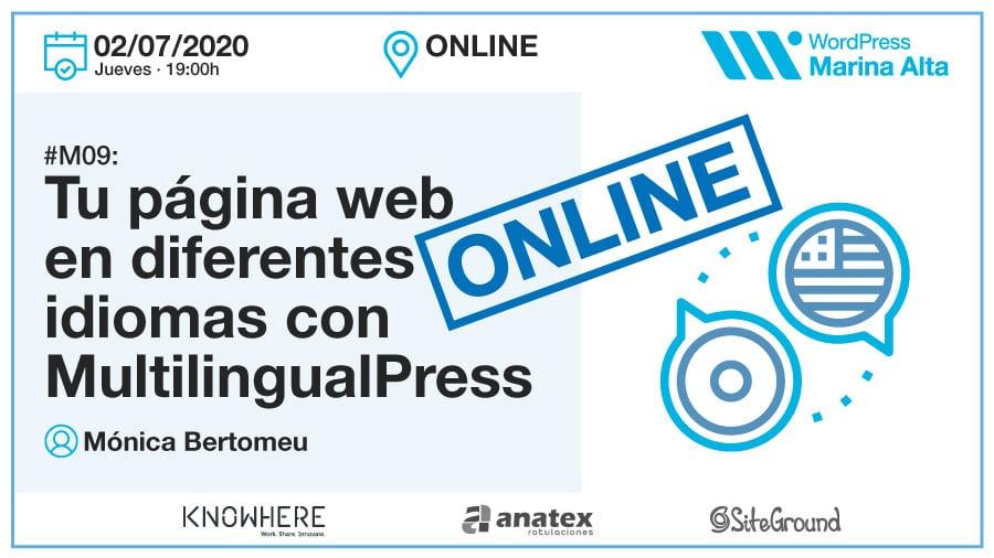 M09: Tu página web en diferentes idiomas con MultilingualPress