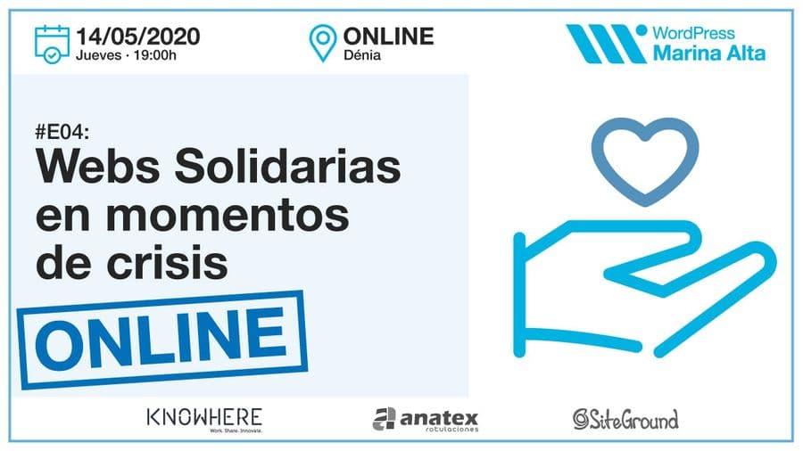 E04-Webs solidarias en momentos de crisis